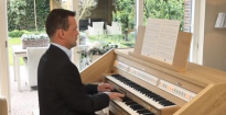 Fuga gigue BWV 577 by J.S. Bach played on the new Johannus Opus 250