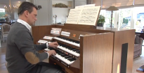 Christmas Meditation by André van Vliet played on the new Johannus Vivaldi 350